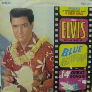 Elvis Presley Vinyl LP Blue Hawaii RCA Victor SF 8145 UK VG VG