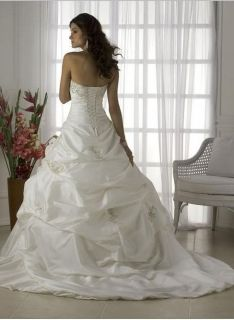 Ivory White Wedding Dress Bridal Gown Stock Size 8 10 12 14 16