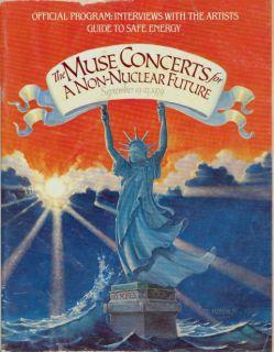 Bruce Springsteen 1979 Muse Tour Concert Program Book
