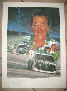 HARRY GANT LIMITED EDITION LITHOGRAPH BY TIM BRUCE SIGNED