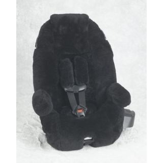 Sheepskin Convertible Car Seat Cover Britax Husky Regent Black