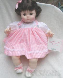 doll brunette 3945 1975 madame alexander 14 puddin doll brunette 3945