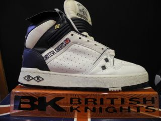 British Knights Kings LX US7 Retro Jordan Vintage Collector