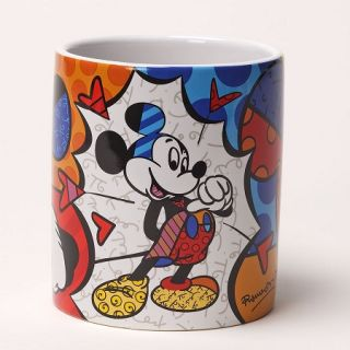 Disney by Britto   Mickey Mouse Coffee Mug   Microwave & Dishwasher
