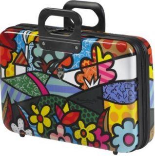 Heys USA Luggage Britto Landscape Flowers Esleeve B702 ES