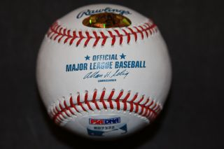 Lou Brock Signed MLB Baseball St Louis Cardinals 938 SBs Inscription