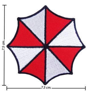 Resident Evil Umbrella Corp Ecussons Brodé Patch Thermo