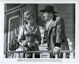 Photo Broderick Crawford Diana Lorys in The Texican 1966 Western Movie