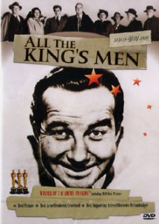 All the Kings Men (1949) DVD, New!! Broderick Crawford