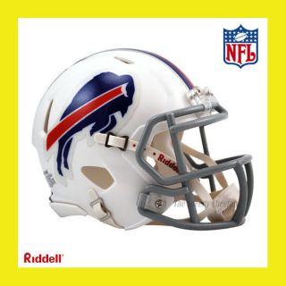 BUFFALO BILLS OFFICIAL NFL MINI SPEED FOOTBALL HELMET by RIDDELL