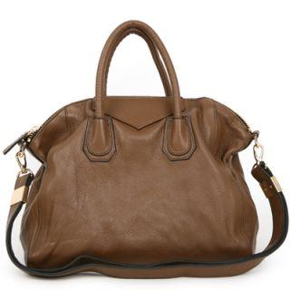 Made in Korea NWT Genuine Leather Brody Satchel Shoulder Bag Purse