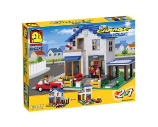 Oxford CH3242 Change House Building Block Brick Toy Lego Style