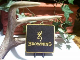 Browning Patch Firearms Pistol Rifle Gun Pin Hunting Vest Shirt