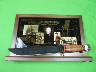 US Marbles Browning Arms Company Commemorative Huge Fighting Knife