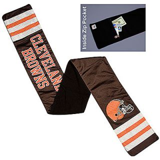 NEW Cleveland Browns Fleece Jersey Scarf Football Official NFL Has