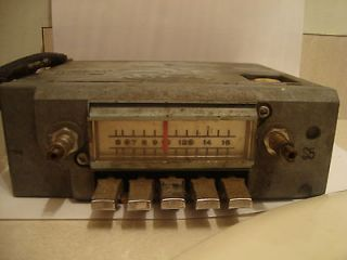 Vintage Ford FoMoCo 1965 AM Car Radio   Selling for Parts