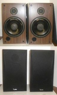 Vintage Infinity SM 105 Speakers ~ Polycell Tweeters ~ 10 Woofers