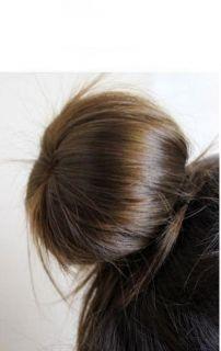 Hair Bun Ring Donut Shaper Hair Styler Maker for Girls Women Black New