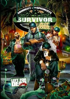 Rick Ross Lil Wayne Slim Thug Bun B DVD Videos DVD CD Survivor Gulf CD