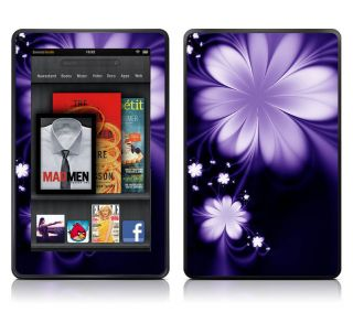 Bundle Monster Kindle Fire Vinyl Skin Decal Art Sticker Cover   Purple