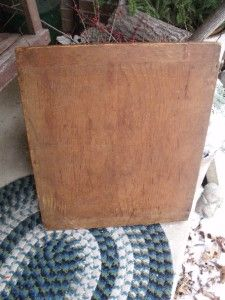 Large Rustic Primitive Antique Wood Bread Board Dough Board Cutting