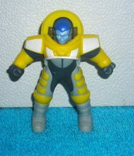 Martians Have Landed Yellow CDR B Bop A Luna Burger King Toy