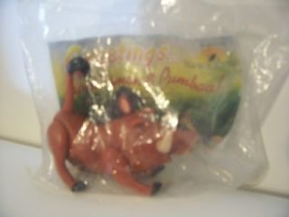 burger king toy lion king pumbaa nip