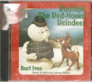 Burl Ives Rudolph the Red Nosed Reindeer Christmas CD NEW SEALED