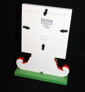 New Burton Gifts 3 5x3 5 Christmas Holiday Santa Elf Photo Picture