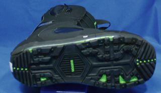 2012 Burton ion Snowboard Boots 10 5 Black Green Est Mens $400