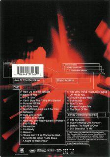 Bryan Adams Live at The Budokan Japan 2000 DVD 606949371692