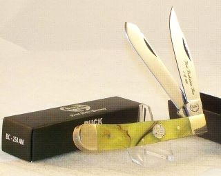Buck Creek Trapper Knife Germany 1st Production Run Mint in Case Box