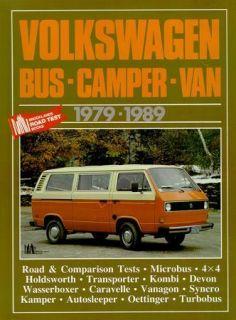 Volkswagen Bus camper Van Transporter 1979 89 Test