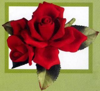 Andrea by Sadek Boxed Red Rose with Bud 4 Mothers Day