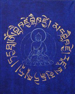 Old Medicine Buddha Statue Tibetan Doctor Healing Consecrated Health