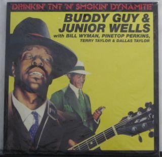 Buddy Guy & Junior Wells Drinkin TNT N Smokin Dynamite NEW LP 12