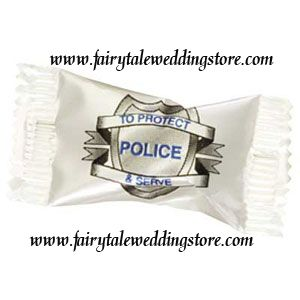 Officer Wedding Favor Retirement Party Mints Buttermints Candy Favor