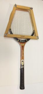 Don Budge Regent Contender Wooden Tennis Racket w Frame