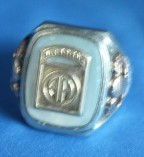 US Army Airborne Division Parachutist Ring