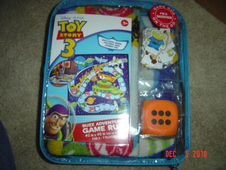 Disney Pixar Toy Story 3 Buzz Adventure Game Rug Brand New