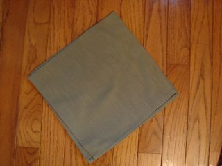 Longaberger Baskets Sage Green Fabric Table Napkin New