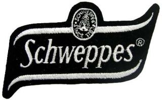 Schweppes Cream Soda Soft Drink Embroidered Patch 01