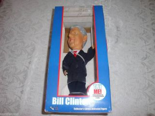 Bill Clinton Collectors Edition Animated Figure New
