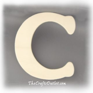 These wooden letter are ideal for home decor and could be used to