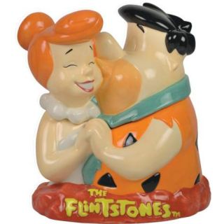 Fred and Wilma Flintstone Cookie Jar by Westland Giftware