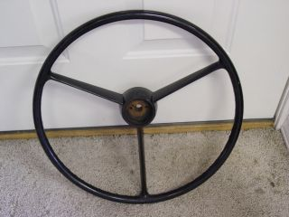 55 56 1955 1956 BUICK STEERING WHEEL RAT ROD HOT ROD NOS LOOK