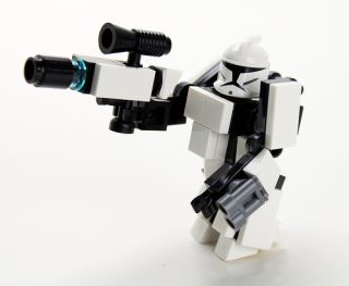 CUSTOM Lego Star Wars BLACK OPS IMPERIAL GUNSHIP, like Republic Attack