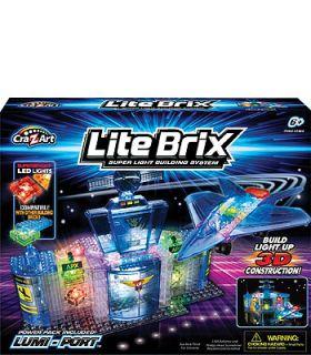 Cra Z Art Lite Brix 3D Construction Building System   Lumi Port