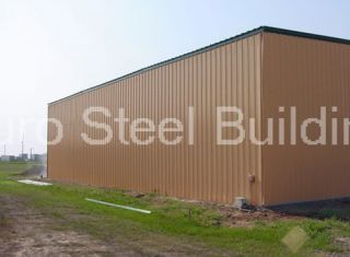 Steel 65x125x20 Metal Building Factory DiRECT Incl. Doors,& Insulation