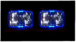 79 80 Buick Skyhawk Blue Halo Euro Xenon Headlight Conversion Angel